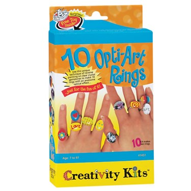 Creativity for Kids OptiArt Ring Activity