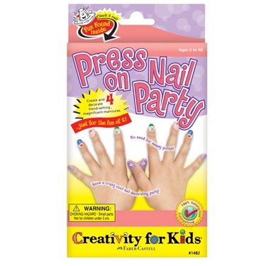 Creativity for Kids Press On Nail Party Activity