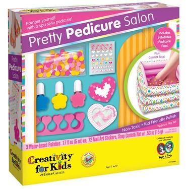 Pedicure For Kids : Creativity for Kids Pretty Pedicure Salon Activity BirthdayExpress ...