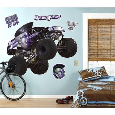 Monster Jam Mohawk Warrior Giant Wall Decal