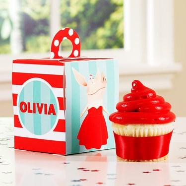Olivia Cupcake Boxes