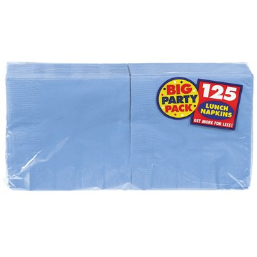 Pastel Blue Big Party Pack - Lunch Napkins