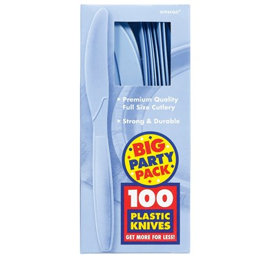 Pastel Blue Big Party Pack - Knives