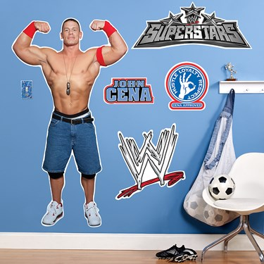 WWE Wrestling Giant Wall Decals
