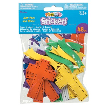 Foam Stickers - Crosses and Banners