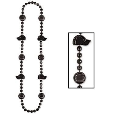 Baseball Beads - Black