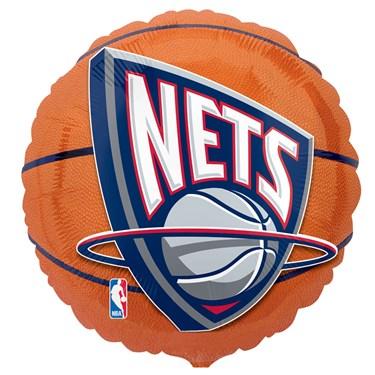 New Jersey Nets Basketball Foil Balloon