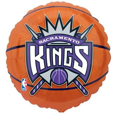 Sacramento Kings Basketball Foil Balloon