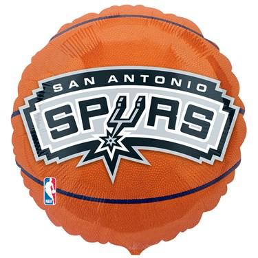 San Antonio Spurs Basketball Foil Balloon