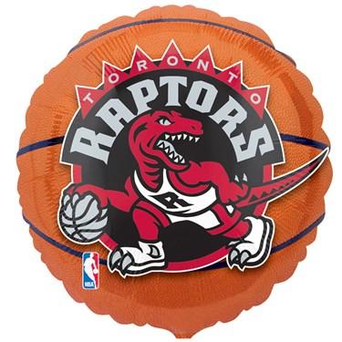 Toronto Raptors Basketball Foil Balloon