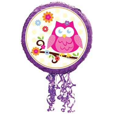 Owl Blossom Pull-String Pinata
