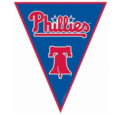 Philadelphia Phillies Baseball Pennant Banner