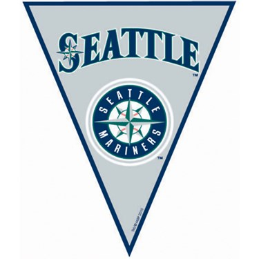 Seattle Mariners Baseball Pennant Banner