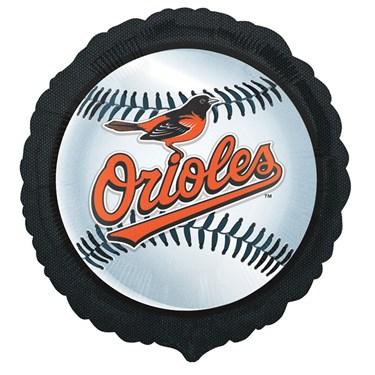 Baltimore Orioles Baseball Foil Balloon