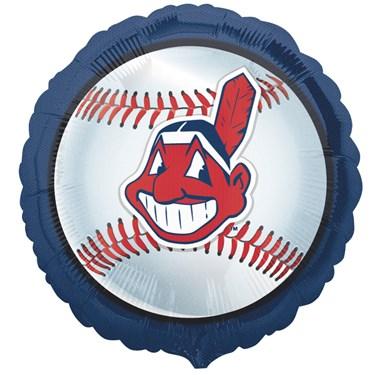 Cleveland Indians Baseball Foil Balloon