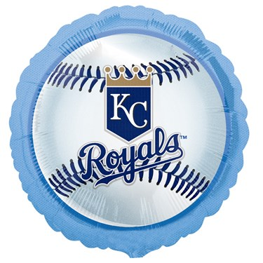 Kansas City Royals Baseball Foil Balloon