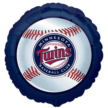Minnesota Twins Baseball Foil Balloon