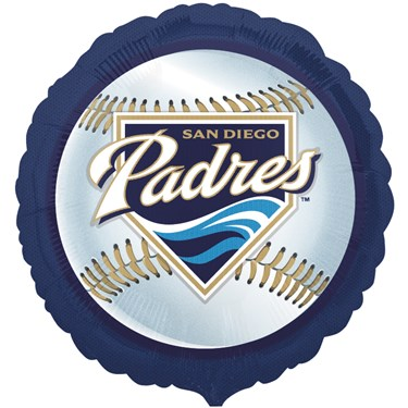 San Diego Padres Baseball Foil Balloon