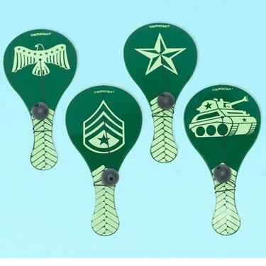 Camouflage Paddle Balls