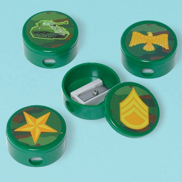 Camouflage Pencil Sharpeners