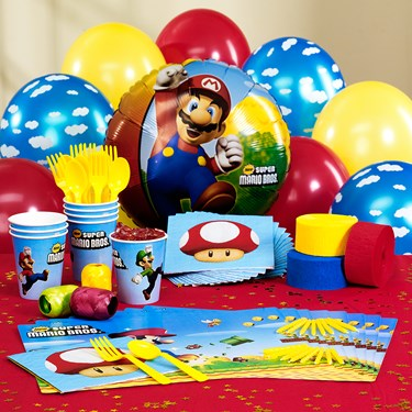 Super Mario Bros. Personalized Party Theme