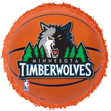 Minnesota Timberwolves Basketball - Pinata