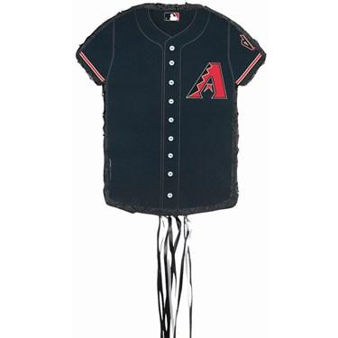 Arizona Diamondbacks Baseball - Shirt Shaped Pull-String Pinata