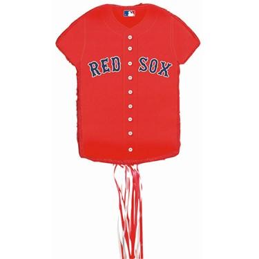 Boston Red Sox Baseball - Shirt Shaped Pull-String Pinata
