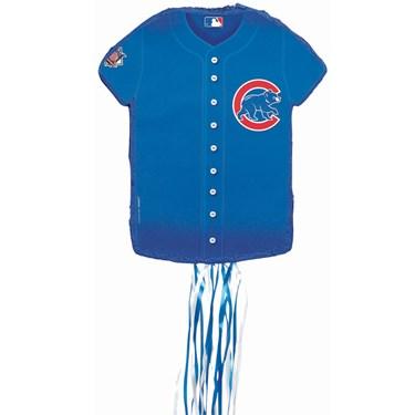 Chicago Cubs Baseball - Shirt Shaped Pull-String Pinata