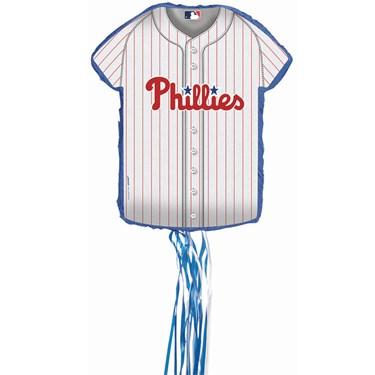 Philadelphia Phillies Baseball - Shirt Shaped Pull-String Pinata