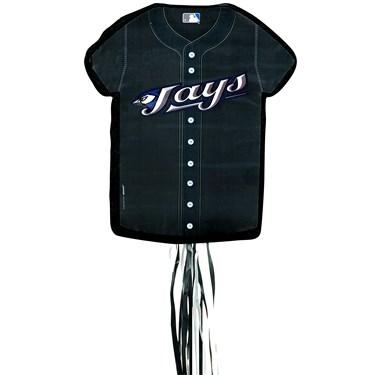 Toronto Blue Jays Baseball - Shirt Shaped Pull-String Pinata