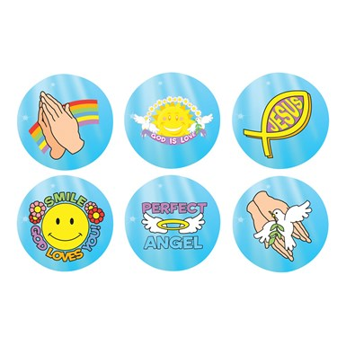 Religious Roll Stickers