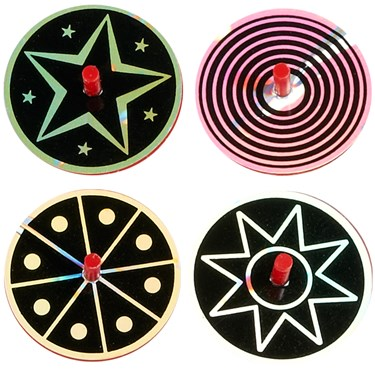 Mylar Spin Tops