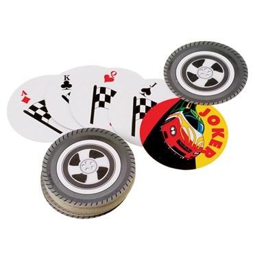 Racing Wheel Playing Cards