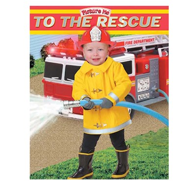 To The Rescue Board Book