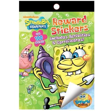 Spongebob Reward Sticker Activity Book