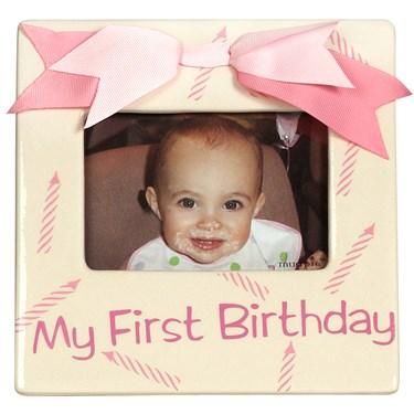 Princess 1st Birthday Photo Frame