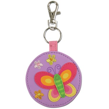 Butterfly Mirror Keychain