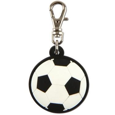 Soccer Zipper Pull