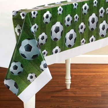 Team Sports Soccer Plastic Tablecover