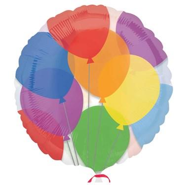 Balloons Magicolor Foil Balloon