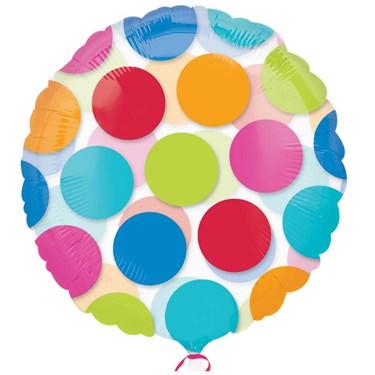 Cabana Dots Magicolor Foil Balloon