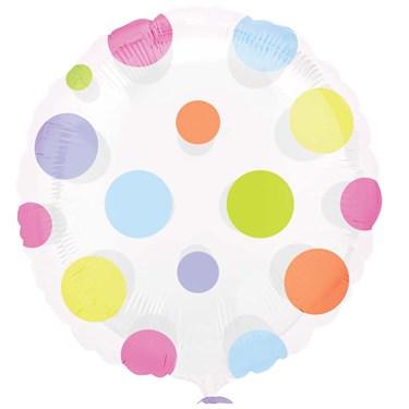 Dots Magicolor Foil Balloon