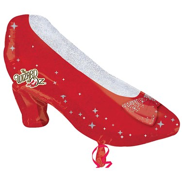 Ruby Slippers Shaped Foil Balloon