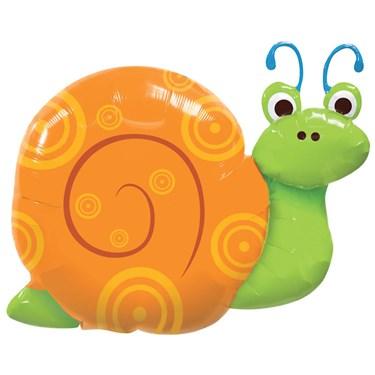 Cute Swirly Snail Shaped Foil Balloon