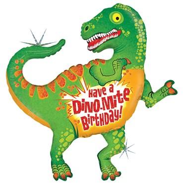 Dinosaur Birthday Foil Balloon