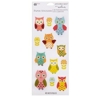 Owls Sticker Sheets