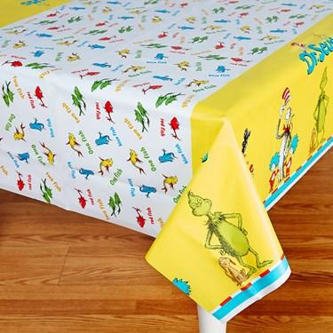 Dr. Seuss Plastic Tablecover