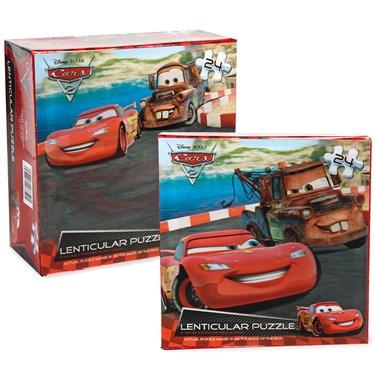Disney Cars 2 Lenticular Puzzle