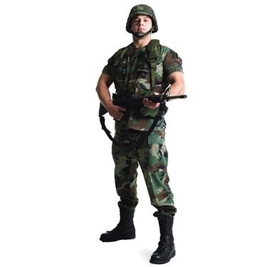 U.S. Soldier Standup